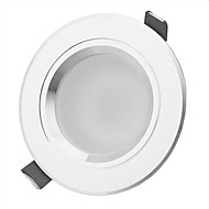 7W LED Downlights 7 High Power LED 630-770lm lm Warm White / Natural White Decorative AC 85-265 V 1 pcs