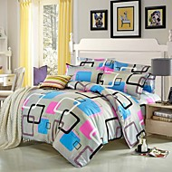 multi color polyester koning dekbedovertrek sets