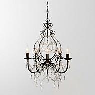 MAX:60W Lámparas Araña ,  Campestre Pintura Característica for Cristal MetalSala de estar / Dormitorio / Comedor / Habitación de