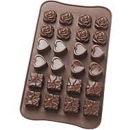 עובש שוקולד סיליקון פלטינה
