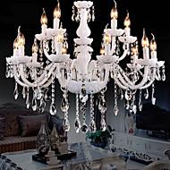 Lustry Křišťál/Žárovka je zahrnuta v ceně. moderní - současný design Obývací pokoj/Ložnice/Jídelna/studovna či kancelář/Chodba Sklo