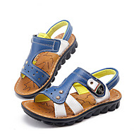 Boys' Shoes Casual Leather Sandals Blue/Brown/Yellow