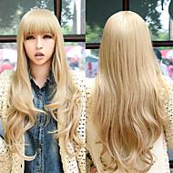 parrucche cosplay giovane lunghi capelli sintetici rettilineo parrucche parrucche del partito del costume
