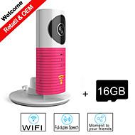 besteye® cartão de 16GB tf e ip câmera inteligente com visão noturna IR sem fio da câmera de vigilância wi-fi