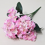 6 Branches of Hydrangea Flowers