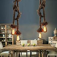 מנורות תלויות נורה כלולה וינטאג'/גס חדר שינה/חדר אוכל/מטבח/חדר מקלחת/חדר עבודה / משרד/מוסך מתכת
