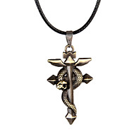 Men's Western Style Vintage Cross  Alloy Necklace Party/Causal