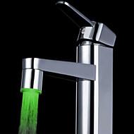 grøn messing køkkenvask førte vandhane tap dyse