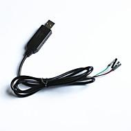 PL2303HX naar usb TTL Upload Download draad voor arduino (95cm)