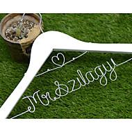 Bruiloft/Gefeliciteerd/Bedankt - Haar/Bruid/Bruidsmeisje/Echtpaar - Creatief geschenk - Wit/Koffiebruin