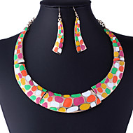 Women Vintage / Party / Casual Alloy / Acrylic Necklace / Earrings Sets