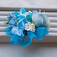Dame/Blomsterpige Blonde/Rhinestone/Legering/Imitert Perle Headpiece Bryllup/Spesiell Leilighet/Utendørs BaretteBryllup/Spesiell