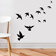 Wall Stickers Wall Decals,  Flying Birds PVC Wall Stickers