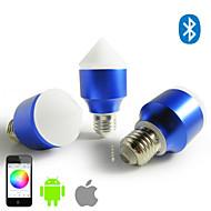 Smartphone-App Steuerung bluetooth führte rgb und warmweiß Glühbirne