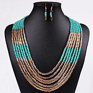 Women Vintage/Cute/Party/Casual Alloy/Others Necklace/Earrings Sets
