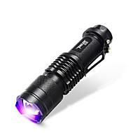 TanLu Lanternas LED / Lanternas de Mão LED 20 Lumens 1 Modo LED 14500Foco Ajustável / Recarregável / Detector de Falsificações / Luz