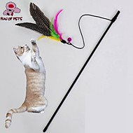 Macskák Játékok kisállatoknak Ugratások / Toll játék Madár Barna Textil
