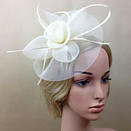 Women Net Elegant Fascinators/Flowers With Wedding/Party Headpiece(More Colors)
