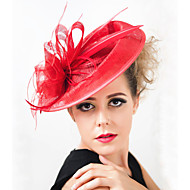Women Wedding Party  Sinamay  Feather Clip Fascinator SFC12391(more colors)
