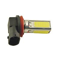 carking™のH8 / H11 15ワット3 *穂軸は600ミリリットル白色光foglightランプを主導(直流12V)
