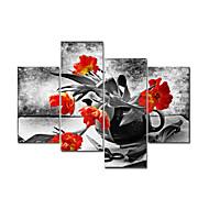 vizuális star®red virág modern vászon art festészet nagy mennyiségű falikép készen, hogy lefagy