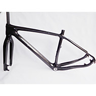 "MB-NT202+FK-NT22 Neasty Brand  Full Carbon Fiber Carbon Black 29er MTB Frame and Fork 15.5""/17.5/19"""