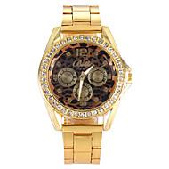 Women Watches Gold Watch Women Fashion Alloy Crystal Leopard Quartz Watch Cool Watches Unique Watches