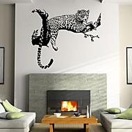 murales personnalité créatrice tigre pvc autocollants mur style autocollants mur autocollants