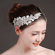 Women's Lace/Rhinestone/Crystal Headpiece - Wedding/Special Occasion Headbands/Flowers 1 Piece