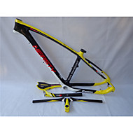 MB-NT202G7 Neasty Logo High Qulity Yellow Color 29er Full Carbon Fiber Mtb Frameset Frame Handlebar Saddle Seatpost