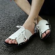 Men's Shoes Casual  Sandals Blue/Brown/White