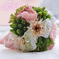 """Wedding Flowers Round Roses Bouquets Wedding Bead 8.27""""(Approx.21cm)"""