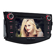 Quad-Core 2 DIN Android4.4 Car DVD Player for Toyota RAV 7 inch 1024 x 600Built-in Bluetooth/GPS/RDS/WiFi/Subwoofer