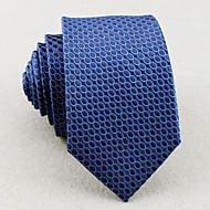 Mřížka - Kravaty (Modrá , Polyester)