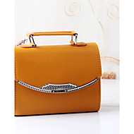 Women's Fashion Casual PU Leather Messenger Shoulder Bag/Totes