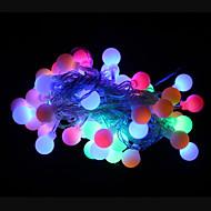 50-geführten 9m wasserdichten Outdoor-Weihnachtsfeiertagsdekoration RGB-LED-String-Licht (220 VAC)