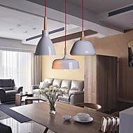 Chandelier Pendant Light Led Ceiling Corridor Light Led Pendant Light Bedroom Lamps Spray Paint 3 Light aluminum