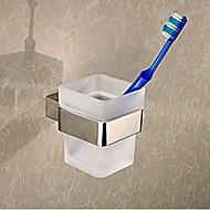 Držák na zubní kartáček / Koupelnové gadgety / Nerez / Na ze´d /120mm*120mm*100mm /Nerez / Sklo /Moderní /12cm 12cm 0.7