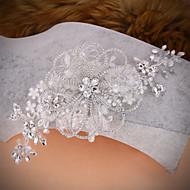 Bride's Crystal Rhinestone Forehead Wedding Headdress 1 PC