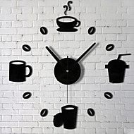 Horloge murale - Rond - Moderne/Contemporain/Traditionnel/Rustique/Casual/Office/Business