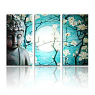 visuaalinen star®high laatu buddhan kangas maalaus taide valmis roikkumaan
