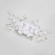 Women's/Flower Girl's Rhinestone/Crystal/Alloy/Imitation Pearl Headpiece - Wedding/Special Occasion Hair Combs 1 Piece