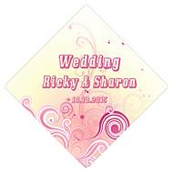 Strand Thema/Vegas Thema/Klassiek Thema - stickers ( Roze , Papier met filmlaag
