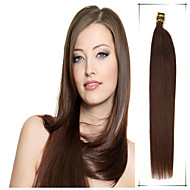 Grade 5A 1Pc/Lot 16Inch/40cm Multicolors Straight Fusion /I Tip Hair Extensions Human Hair Weaves 100s/Pack 0.4G/s