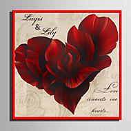 Ramki na podpisy ( Czerwony ) - Motyw Garden