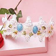 Women's Lace/Pearl/Rhinestone/Alloy Headpiece - Wedding/Special Occasion Headbands/Flowers 1 Piece