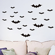 Halloween Bat PVC Wall Stickers  Wall Decals