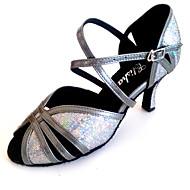 Customized Women's Latin Sandal Customized Heel Lady Dance Shoes More Colors