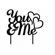 The You  Me Cake Topper