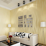 Contemporary Wallpaper Art Deco 3D Simple Modern Wallpaper Wall Covering Non-woven Fabric Wall Art